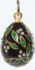 alfa-jewel-black-green-enamelled-egg-pendant