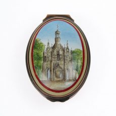 Halcyon Days Chichester Cross enamel box