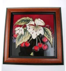 moorcroft-cherry-blossom-plaque