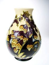 Moorcroft Limited Edition Fairies Foxglove Vase