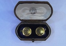pre-owned-18ct-yellow-gold-cufflinks