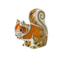 Royal Crown Derby Autumn Squirrel