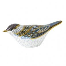 Royal Crown Derby Blackcap Warbler