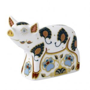 Royal Crown Derby Percy Piglet