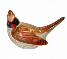 Royal Crown Derby Red Female Cardinal