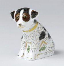 Royal Crown Derby Sitting Puppy Bertie