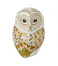 Royal Crown Derby Winter Owl
