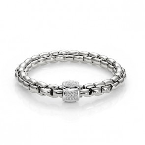 Fope Flex it Eka 18ct White Gold Bracelet