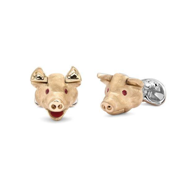 Deakin & Francis Pig Cufflinks
