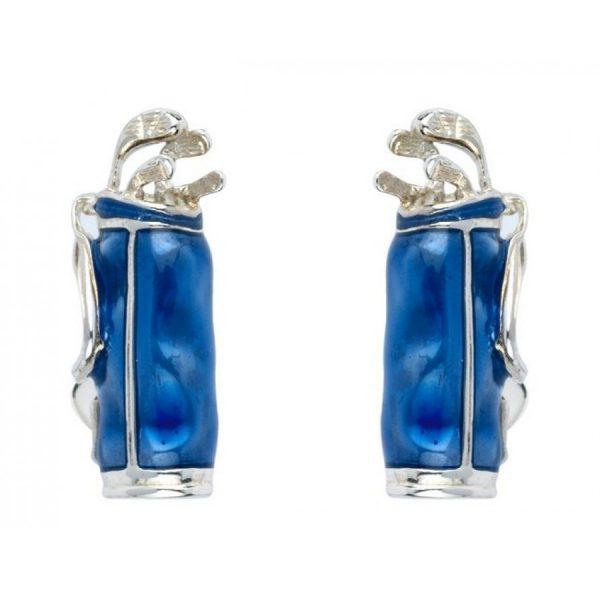 Deakin & Francis Blue Golf Bag Cufflinks