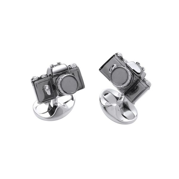 Deakin and Francis Camera Cufflinks