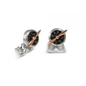 Deakin & Francis Sopwith Propeller Cufflinks