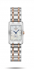 Longines Ladies Dolcevita watch with mother of pearl and diamond dial