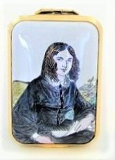Halcyon Days Elizabeth Browning Enamel Box