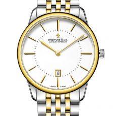1980 - Two Tone Mens Bracelet Watch