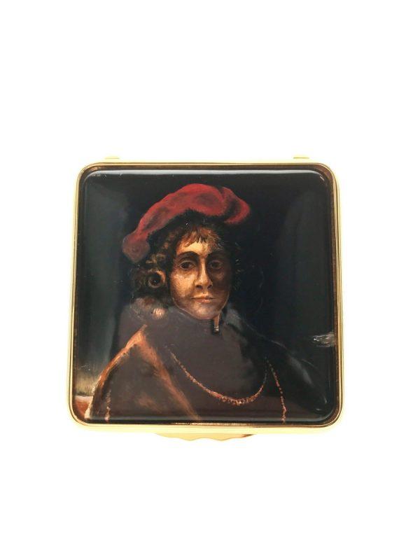 Halcyon Days Portrait of Titus Box