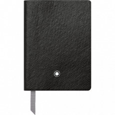Montblanc Fine Stationery Notebook #145 Black, lined