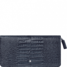 Montblanc Leather Wallet Indigo