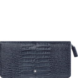 Montblanc Leather Wallet Indigo