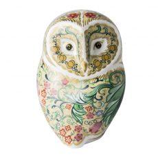 Royal Crown Derby Parchment Owl