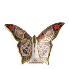 Royal Crown Derby Old Imari Butterfly