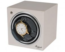 Rapport Evo Cube Single Watch Winder White