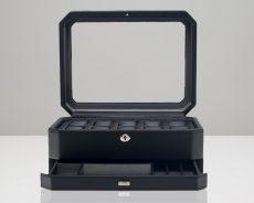 Wolf Windsor 10 Piece Watch Storage Box