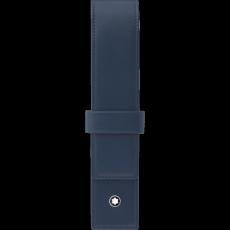 Meisterstück Navy Pen Pouch with Retainer