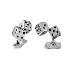 Deakin and Francis Dice Cufflinks