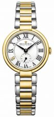 Dreyfuss ladies 1974 two tone gold plated watch