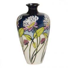 Moorcroft Trefoil vase