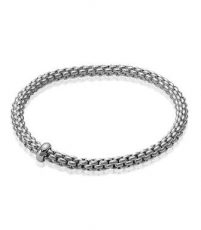 Fope White Gold Bracelet