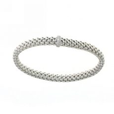 Fope white gold diamond bracelet