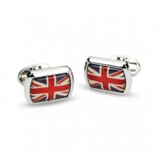 Halcyon Union Jack cufflinks