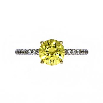 Carat Canary Yellow Ring