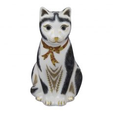 Royal Crown Derby Mother Cat