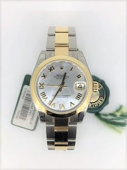 Rolex Mother of pearl dial roman hands