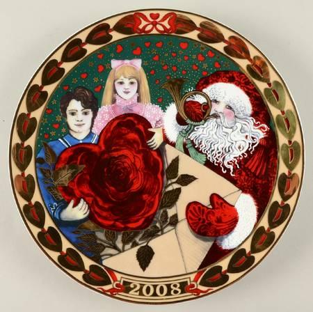 Royal Copenhagen Heart Of Christmas 2008 Plate Austen Jewellers