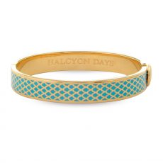 HD Turquoise and Gold bangle