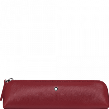Montblanc red pen pouch