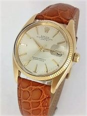 Pre-Owned 18ct. Gold Rolex Oyster Perpetual Date