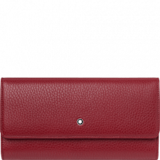 Montblanc Red Leather Wallet