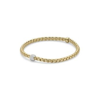 Fope Bracelet 18ct Yellow Gold