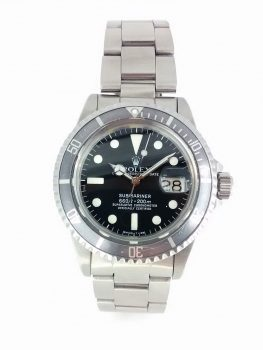 Previously Owned Rolex Submariner Ghost Bezel 01