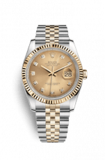 Previously Owned Rolex Datejust 36 Diamond index dial