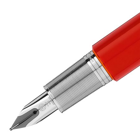 Montblanc M Red Fountain Pen