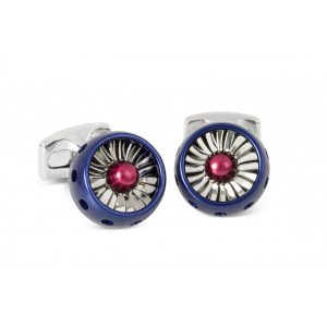RAFJet Turbine Engine Cufflinks