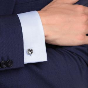montblanc knot cufflinks