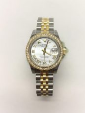 Previously Owned Rolex Lady-Datejust 26mm Diamond Bezel