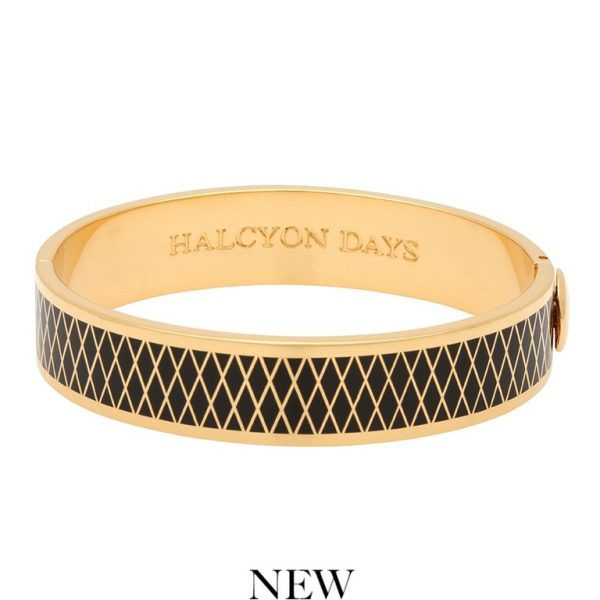 HD Black & Gold Bangle